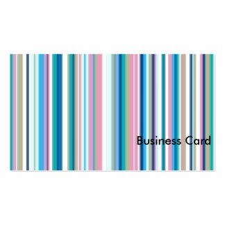 Deppighet Pinks, gråttrand Set Av Standard Visitkort