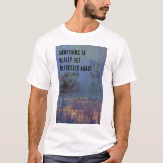 Deprimerad skjorta t shirts