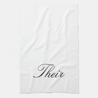 "Deras ""Hir & deras"" handdukar"
