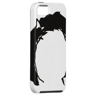 Derpina hår iPhone 5 Case-Mate fodral