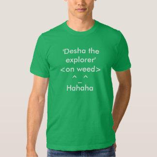 Desha utforskareT-tröja Tshirts