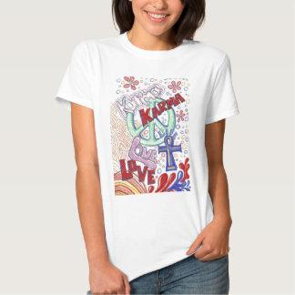 design för 70-talKarmafred T-shirt