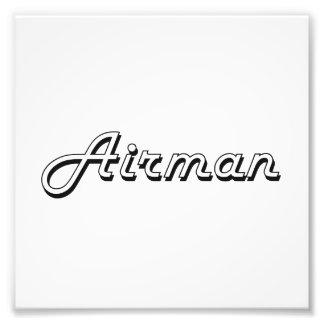 Design för Airmanklassikerjobb Fototryck