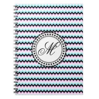 Design för anpassade för blått- & anteckningsbok