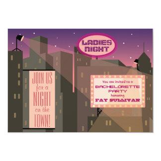 Design för Bachelorette partyinbjudan 12,7 X 17,8 Cm Inbjudningskort