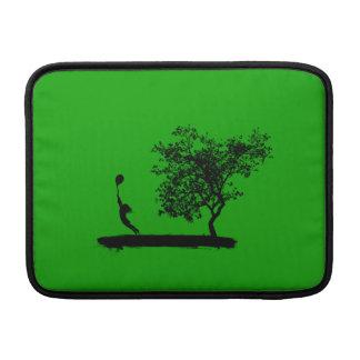 Design för ballong för grönt för Macbook luftsleev MacBook Air Sleeve