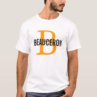 Design för Beauceron avelMonogram Tee