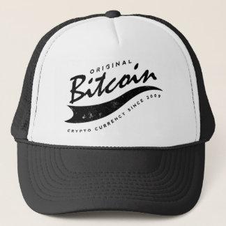 Design för Bitcoin baseballlogotyp Truckerkeps