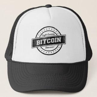 Design för Bitcoin etikettlogotyp Keps