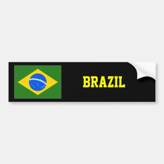 Design för Brasilien bildekalvärldsstjärna Bildekal