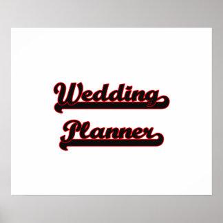 Design för bröllopsfixarenklassikerjobb poster