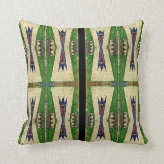 Design för Cheyenne 1860'sparfleche Kudde