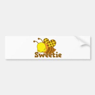 Design för cutie för kawaii för SWEETIEhonungbi Bildekal