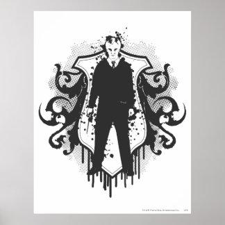 Design för DracoMalfoy mörk konster Poster
