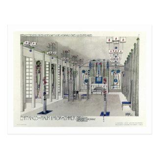 Design för ett musikrum med paneler vid Margaret Vykort
