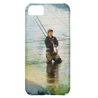 Design för fiskare- & Stång fiske utomhus iPhone 5C Fodral