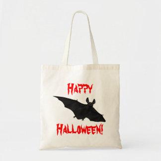 Design för fladdermöss för vampyr för Halloween Budget Tygkasse