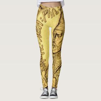 Design för Haile Selassie damaskerkung Judah Leggings