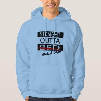 design för hoodie för rak outtamedicinsk fakultet