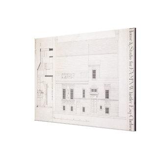 Design för hus & studion för J.A.M. Whistler Esq, Canvastryck
