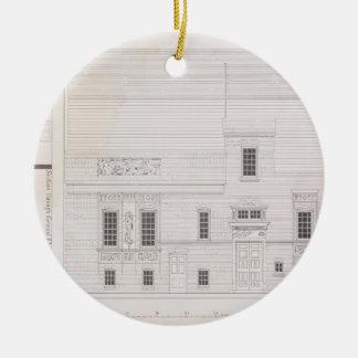 Design för hus & studion för J.A.M. Whistler Esq, Julgransprydnad Keramik