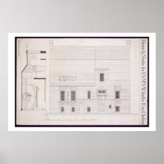 Design för hus & studion för J.A.M. Whistler Esq, Poster