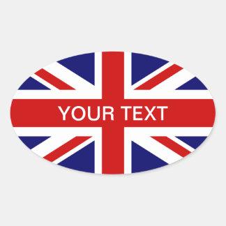 Design för jack för klistermärke | för brittisk