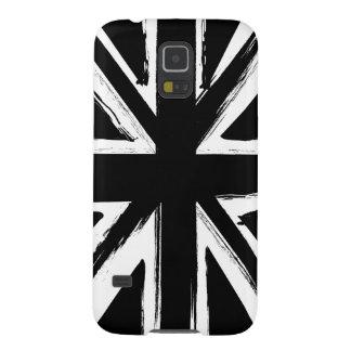 Design för jack för Retro abstraktsvart facklig Galaxy S5 Fodral
