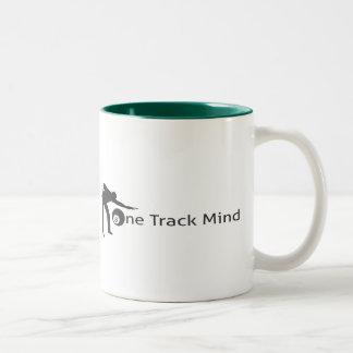 Design för kaffemuggbiljard Två-Tonad mugg