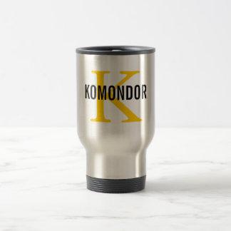 Design för Komondor avelMonogram Resemugg