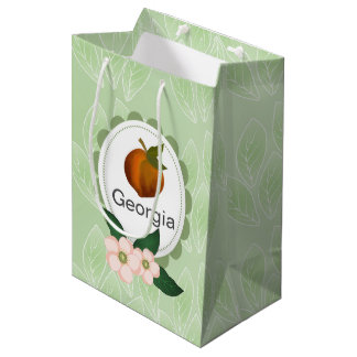 Design för konst för Georgia persikafrukt