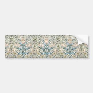 Design för konst för lilja- och Pomegranatevintage Bildekal