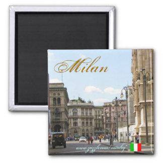 Design för magnet för Milan italiencoola