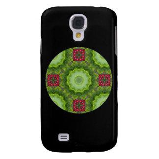 Design för Mandala för järnekbär Kaleidoscopic Galaxy S4 Fodral