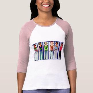 Design för mode för damlångärmadskjorta 1997 tee shirt
