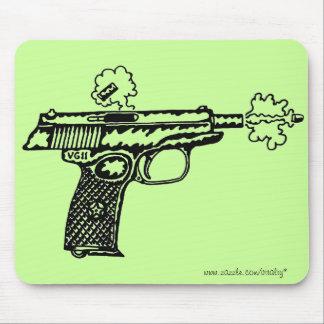 Design för mousepad för coola för skyttevapengrafi mus mattor