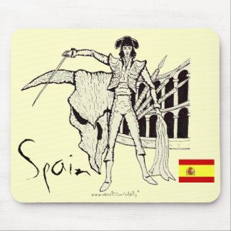 Design för mousepad för coola för Spanien corridag Musmattor