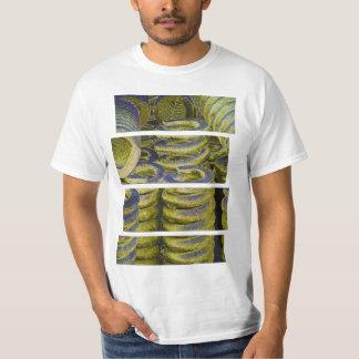 Design för neontågvår t-shirt
