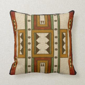 Design för parfleche för Cheyenne stil1860's Kudde
