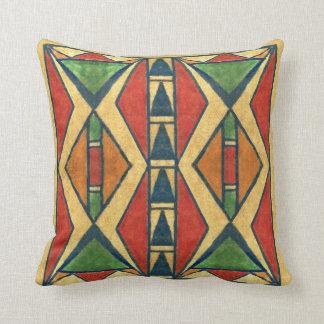 Design för parfleche för Sioux stil1860's Kudde