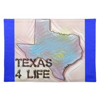 """Design för pride för karta """"för Texas 4 liv"""" Bordstablett"""