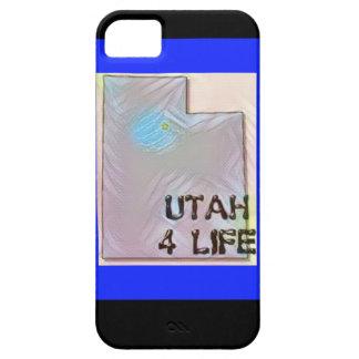 """Design för pride för karta """"för Utah 4 liv"""" iPhone 5 Case-Mate Skal"""