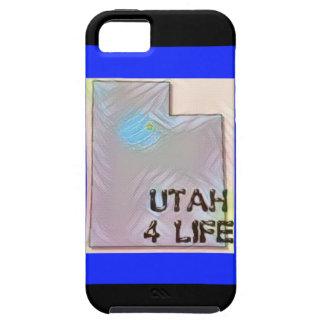 """Design för pride för karta """"för Utah 4 liv"""" iPhone 5 Fodraler"""