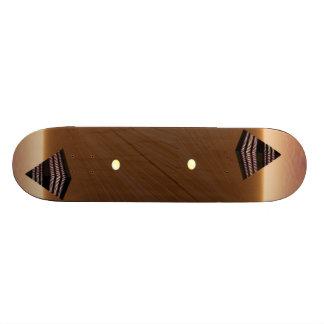 Design för pyramidreflexionsSkateboard Mini Skateboard Bräda 18,5 Cm