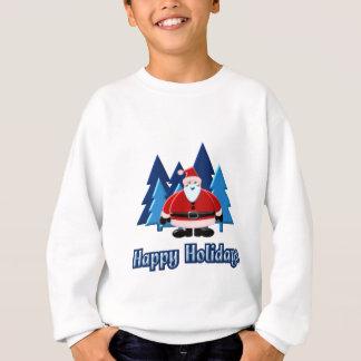 Design för Santa glad helgträd 3D T Shirts