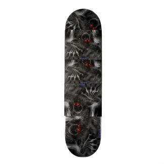 """Design för Skateborad 7 ¾"""" - skalle Old School Skateboard Bräda 21,6 Cm"""