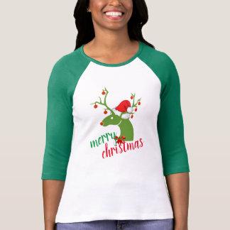 Design för skjorta för god juldekorationren tshirts
