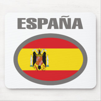Design för Spanien coolaflagga! Musmatta
