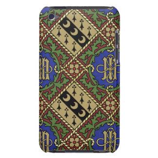 Design för tapet för diamanttryck ecklesiastisk iPod Case-Mate case