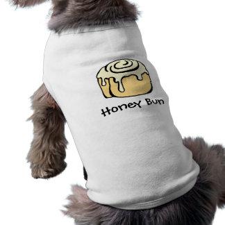 Design för tecknad för kanelbrun rulle för hundtröja
